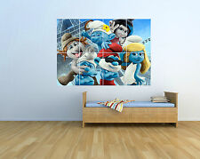 Smurfs - Extra Large KIDS - Massive Wall Poster/Picture