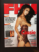 FHM n°89 Cassie nicole lenz robbie williams clara morgane 2006