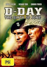 D-Day - The Sixth Of June (DVD, 2003) - Good Plus...... LOC1