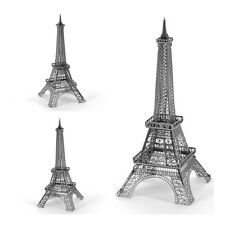 3D Metallic DIY Puzzle Stainless Silver France Paris Eiffel Tower