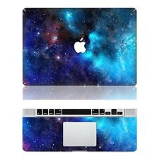 Removable Galaxy Protective Full Cover Vinyl Decal Sticker Cover Apple MacBook