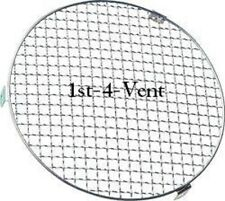 """4"""" 100mm CIRCULAR MESH GRILLE VENT, FINGER GUARD for DUCTING, EXTRACTOR FANS"""