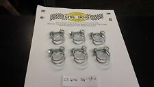 CLASSIC CAR ORIGINAL STYLE HOSE CLIP WIRE TYPE SET OF 6  3/4 -7/8 INCH