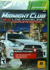 Midnight Club Los Angeles Complete Edition for XBox 360. Brand new!