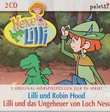 DCD Kinder Hörspiel Hexe Lilli und Robin Hood / Das Ungeheuer von Loch Ness