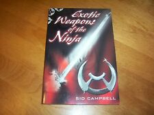 EXOTIC WEAPONS OF THE NINJA Warriors Japanese Warrior Weapon Japan Book NEW