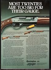 1981 REMINGTON Model 870 20 gauge Lightweight  & 1000 LT-29 Shotgun AD