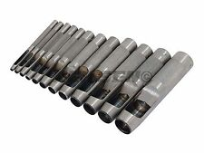 BRAND NEW   12 PC HOLLOW HOLE PUNCH SET  imperial