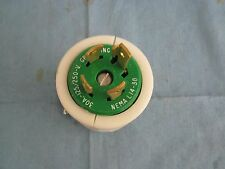 Leviton: 30A; 125/250V Twist Lock Plug.  NEMA L14-30 New Old Stock.  No Box