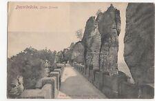Germany, Basteibrucke, Sachs Schweiz Early UB Postcard, A483