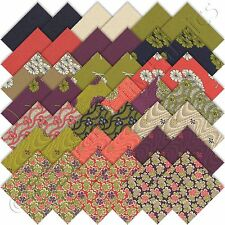"Moda Charm Packs Haiku Charm Pack Japanese Asian Fabric 42 5"" Quilting Squares"