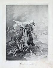 Ägypten Egypt Napoleon Araber Säbel Abukir Türke Reiter Orient Turban Beduine