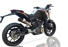 KTM Duke 390 2013 2014 2015 IXIL Dual Underseat Exhaust Muffler Pipe Stainless