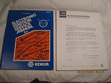 1973 1/2 to 1978 Echlin Electronic Ignition Service Manual 5th ED. Domestic Cars