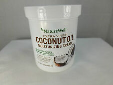 NatureWell Extra Virgin Coconut Oil Moisturizing Cream 16oz New