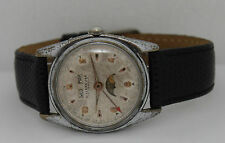 Vintage Bulova Villereuse Automatic Day-Date Moon Phase 35mm Circa 1950s  Watch