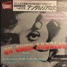 LASERDISC - UN CHIEN ANDALOU-Japanese original-Vintage