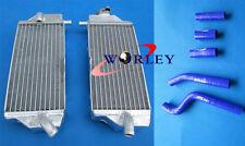 For Yamaha YZF250 YZ250F 2010-2013 2011 2012 Aluminum Radiator & Silicone Hose