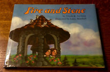 Rare SIGNED 1st/1st Ursula K. Le Guin FIRE AND STONE 1989 First Printing