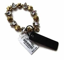 NWT J. Crew Factory Tear Drop Shine Golden Bracelet