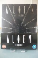 Blu ray steelbook Alien Anthology UK Play.com exclusive New&Sealed Neuf avec VF