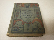THE HISTORY OF THE AMERICAN PEOPLE, CHARLES BEARD & WILLIAM BAGLEY 1919 EUROPE