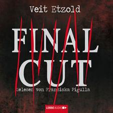 Veit Etzold - Final Cut 6 CDs NEU Krimi Hörbuch - Franziska Pigulla - TOP-PREIS!