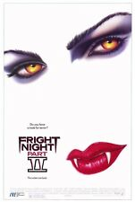 "FRIGHT NIGHT PART II (2) Movie Poster [Licensed-NEW-USA] 27x40"" Theater Size"