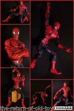 Spider Man Uomo Ragno Marvel Action Figure CM 48 Superarticolato raro toys