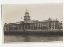 The Custom House Dublin Ireland Vintage RP Postcard 349a
