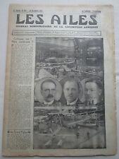 AILES 1932 597 SALON AERONAUTIQUE GNOME RHONE SALMSON SGA SECM LORRAINE BREGUET