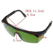 Dark Green Protection Goggles Laser Safety Glasses Eye Spectacles Protective