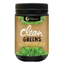 Nutra Organics Clean Greens 200g - Alkalising, Cleansing, Energising