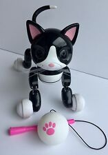 Zoomer Kitty Interactive Robot Cat with Toy - Working, No USB Cord