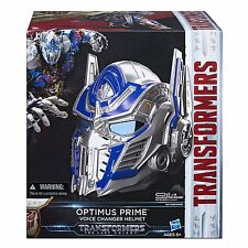 Transformers The Last Knight OPTIMUS PRIME VOICE CHANGER PROP REPLICA HELMET NEW