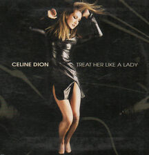"CELINE DION ""TREAT HER LIKE A LADY"" RARE CD SINGLE / DIANA KING - ANDY MARVEL"