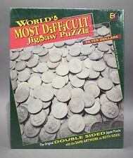 World's Most Difficult Jigsaw Puzzle : Silver Dollars | 513 Pieces | Double Side