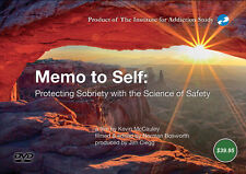 Memo to Self DVD Concepts & Practices of Recovery from Addiction Kevin McCauley