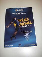 Dossier de presse FRANCE 2017 HANDBALL ( Championnat du monde )