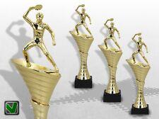 Pokale Tischtennis 3er Pokalserie OLYMP mit Gravur TOP Design & Preis günstig