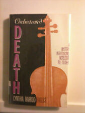 Orchestrated Death by Cynthia Harrod-Eagles 1991 1st American Ed. Hardcover GC