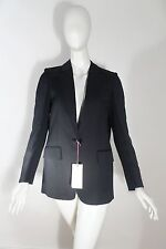 NEW Stella McCartney Black Fringe Tassel Back Blazer SIZE 40