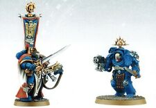 Warhammer 40k Space Marine Captain and Terminator from Battle for Vedros