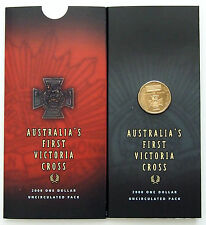 2000 Australia - Victoria Cross $1 Coin - Uncirculated in Pack of Issue