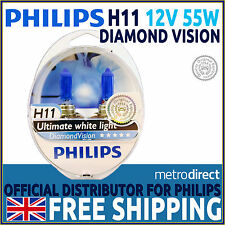 Diamond Vision H11 5000K Upgrade Headlight Bulbs (Twin Pack Of Bulbs)