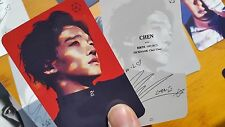 EXO PHOTO CARD #63-1 - EX`ACT - The 3rd Album TEASER  MONSTER ver A - all of 18