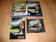 MANAGER DE LIGA 2006 DE CODEMASTERS PARA LA SONY PS2 USADO COMPLETO