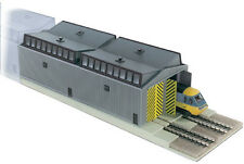 PECO NB-80 Train Shed Unit - Pre Coloured Plastic Kit -  N Gauge New Pack
