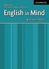 English in Mind 4 Teacher's Book: Level 4, Hart, Brian, Very Good condition, Boo