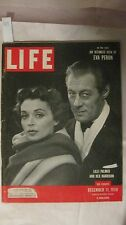 Life Magazine December 11th 1950 Lilli Palmer Rex Harrison Publisher Time  mg419